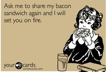 Bacon, bacon, bacon!!!!! / You can tell which ones I've actually tried....they have a nongeneric description.  I vow to try them all. / by Joan Goins