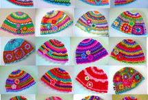 craft - knitted and crocheted hats / by Robyn Sherer