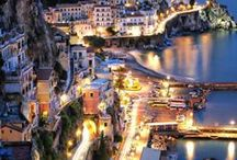 AMALFI... / From the sea you walk through the fortress walls into the square where the church stands,here all the Princes and Lords of the coast are buried .again a beautiful place..... / by Pauline Yvonne West