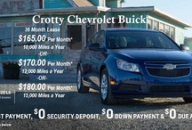 Specials / Great Deals on select vehicles currently in inventory. / by Crotty Chevrolet Buick
