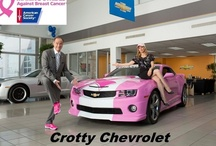 "Making Strides Against Breast Cancer / We are on our way! Crotty Chevrolet will contribute $1.00 for every new ""Like"" to our Facebook page to the American Cancer Society ""Making Strides Against Breast Cancer"" campaign. Please share this with friends and family so we can create a world with less cancer and more birthdays - by helping people stay well ... helping people get well, by finding cures ... and by fighting back. / by Crotty Chevrolet Buick"