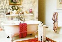 Home: Bathroom / Furniture, textiles and accessories for the bathroom / by Marina Castilla