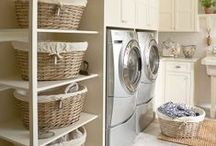 Home: Laundry / Furniture and accessories for the laundry room / by Marina Castilla