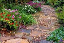 Garden Pathways and Steps / by Laura Leonard