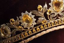 TIARAS ~ Royal / I've always wanted one... still waiting... I'm including some crowns too... Pin all you want... / by Pamela Densmore