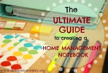 home management & planning / by Daniele @ Domestic Serenity