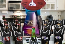 Super Bowl party ideas & football party ideas / Ideas for Super Bowl food, Super Bowl party, Super Bowl watch party, Super Bowl party games, and other football party ideas / by Mary Jo Cameron