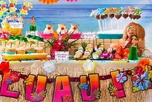 Luau / Luau ideas, luau theme party ideas ... Put the wow in luau! / by Mary Jo Cameron