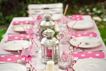 Tablescapes / Pretty party table ideas, color inspiration, centerpiece ideas, gorgeous tablescapes, table settings, and other table decorating inspiration for all kinds of parties and celebrations   / by Mary Jo Cameron