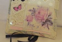 Needle   Cases / needle cases to hold hand sewing needles / by Sheila Smith