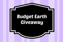 Budget Earth Giveaways / by Susan Bewley