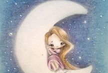 Sleep tight / For the moon never beams without bringing me dreams.  / by Beth Zeen