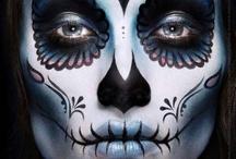 Makeup Sugarskull / by Mareli Basson