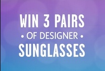 ✿ Shades of Summer ✿      ►Pinterest Contest◄ / How to Enter:  ►1. Complete the form here: http://sweeps.piqora.com/coastal ►2. Follow us on Pinterest  ►3. Re-pin at least 3 pairs of sunglasses from our 'Shades of Summer' Pinterest board. / by Coastal.com