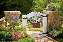 Yard - Garden Gates / by Linda Hilliard