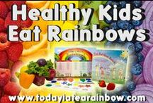 Eat A Rainbow / by Kia Robertson / Today I Ate A Rainbow