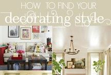 """Decorating Styles / """"We shape our homes and then our homes shape us""""  Winston Churchill / by Instyle Indulgence Interiors"""