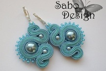 Soutache Jewelry / Beautiful soutache jewelry, both finished art and tutorials / by Jackie Monticup