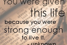 Quotes / by Lynn Dembowski