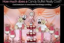 Dessert & Candy Bars / by Soiree Event Design