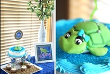 """""""Sand & Sea"""" Turtle party / by Soiree Event Design"""