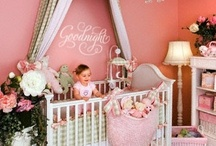 "Pink and Green Nursery / ""I'll love you forever, I'll like you for always, as long as I'm living my baby you'll be.""   / by Shannon Russ"