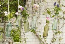 GARDEN Decor  / Outdoor GardenDecor and lighting ideas / by Arlene Mobley   Flour On My Face