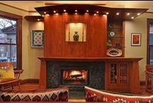 """Fanciful Fireplaces / Nothing chases away that winter chill more than a roaring fire. Here are a few fanciful fireplaces found in Baird & Warner properties throughout Chicagoland. And, remember: """"Real estate is more than just the home you live in - it's the life you get out of it."""" / by Baird & Warner"""