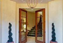 """Fantastic Foyers / The foyers is the first thing guests see when they enter your home. Here are a few fantastic foyers found in Baird & Warner properties throughout Chicagoland. And, remember: """"Real estate is more than just the home you live in - it's the life you get out of it."""" / by Baird & Warner"""