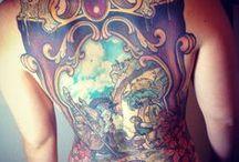 Tattoos / by Stevie Aubuchon-Mendoza
