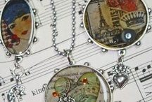 Resin & soldered pendants / by