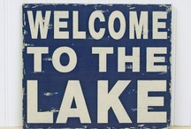 Let's Go To The Lake! / The weekend is the ideal time for heading to the lake... if you have a lake house great! If not create your own unique lake space on the shore! / by The Game Supply