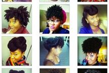 Braids, Styles & Tips / BOX BRAIDS, HAVANA TWISTS, KINKY TWISTS,  ALSO STRAIGHT HAIR STYLES, COLORS AND CUTS. HAIR CARE TIPS, POTIONS AND STYLING TUTS. / by Donna Jones