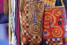 Bags, reused material / by Ulla M Holm