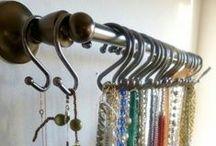 Jewelry storage / by Jennifer Lutz