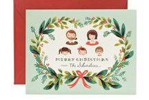 Holiday Cards / Festive & fun Christmas cards / by Jennifer Lutz