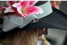 Derby Hats  / Derby Hats for women and ladies are for sale in the HAT-A-TUDE Online Catalog. I can custom trim a hat just for YOU and your outfit! http://www.hat-a-tude.com/ / by Derby-Hats-For-Sale