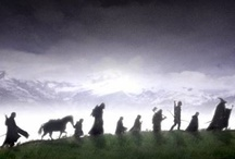 ❦ ¡ Fellowship ! ❦ / An ode to the fans, characters, creations, & adaptations of Professor J.R.R. Tolkien's The Hobbit & Lord of the Rings Trilogy. / by Divine Munguia