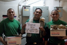 {care packages arrive} / ...sharing the smiles... / by Operation Gratitude