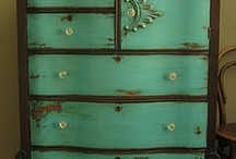 recycled furnishings / by Bruce and Jaala Crowley