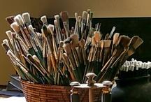 My Art Supplies / by Peg Schoening