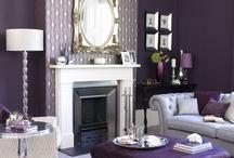 Purple Decor / by Debbie Ziegler
