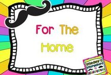 For the Home / by The Kindergarten Smorgasboard