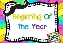 Beginning of the Year / by The Kindergarten Smorgasboard