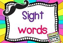 sight words / by The Kindergarten Smorgasboard