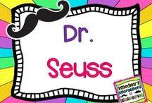 dr. seuss / by The Kindergarten Smorgasboard