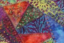 Quilt Inspirations - crazy quilts / by Devera Brower