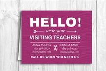 ~LDS - Visiting Teaching~ / by Caroline-Jeannine