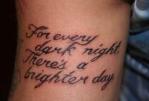 Tattoos / by Sarah Emery