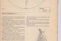 clothes II • patterns • retro ▪ caftan caftan hostess robes / Vintage / by Speranza Phillips